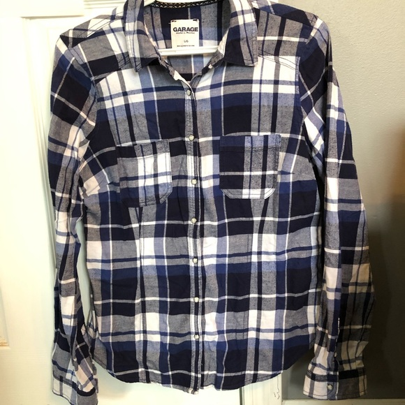 Flannel button up (Women's large)